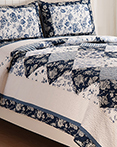 Blue Canton by C&F Quilts