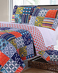 Arianna Teal by Greenland Home Fashions