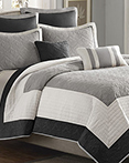 Attingham Black Coverlet by Madison Park