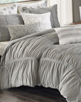 Reese Grey  by Ink and Ivy Bedding