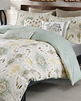 Nia Seafoam by Ink and Ivy Bedding