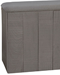 Wyatt Grey Hamper by Lamont Home