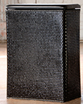 Carter Hamper Black by Lamont Home