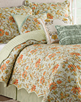 Felicite Persimmon by Waverly Bedding Collection