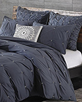 Masie Navy  by Ink & Ivy Bedding