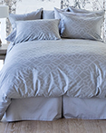 Ines Slate by St. Geneve Luxury Bedding