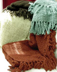 Woolly Knit Throw Blanket