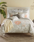 Kaleah Apricot by Blissliving Home Bedding