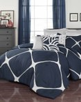 Cersei Navy by Vue Bedding Collection