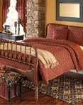 Campbell Red Park Designs Lodge Bedding