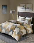Alpine Yellow by Ink & Ivy Bedding