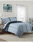 Roz Blue by Vue Bedding Collection