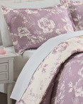 Bonita Purple by Marble Hill Designs Bedding