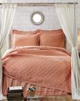 Adelia Apricot by VHC Brands Quilts