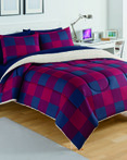 Buffalo Plaid Red/Navy by Izod Bedding
