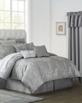 Lauren Slate Grey by Waterford Luxury Bedding