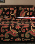 Midnight Paisley by Greenland Home Fashions