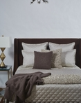 Raffia Taupe by Ann Gish Art of Home Bedding