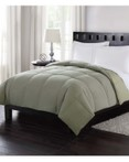 Down Reversible Comforter - Sage by London Fog Bedding