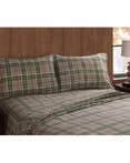 Long Trail Plaid Sheet Set by Remington/Pem America