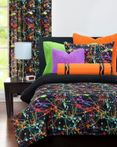 Neon Splat by Crayola Bedding