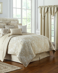 Annalise Gold by Waterford Luxury Bedding