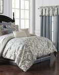 Florence Chambray Blue by Waterford Luxury Bedding