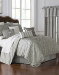 Celine Dove Grey by Waterford Luxury Bedding
