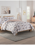 Hexagonal Grey  by Vue Bedding Collection