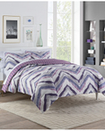 Baxter Plum by Vue Bedding Collection