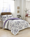 Jasmeen Purple by Marble Hill Designs Bedding