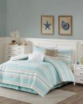 Ocean Reef Quilted Comforter Set by Harbor House