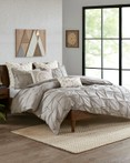 Masie Gray by Ink & Ivy Bedding