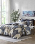Alpine Navy Coverlet by Ink & Ivy Bedding
