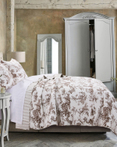 Classic Toile Taupe by Greenland Home Fashions