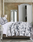 Classic Toile Black by Greenland Home Fashions