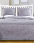 Central Park Stone Grey Bedspread by Greenland Home Fashions