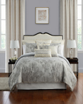 Lacy Silver by Waterford Luxury Bedding