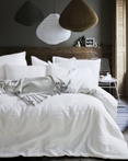Star White Linen by Daniadown Bedding