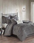 Jenda Grey by FiveTen 510 Designs Bedding