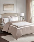 Carroll Tan by FiveTen 510 Designs Bedding