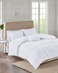 Ciera White by FiveTen 510 Designs Bedding
