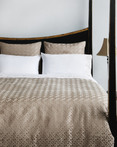 Assure Taupe by IC Linen Co by Kathy Fielder