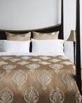 Camille Bronze by IC Linen Co by Kathy Fielder