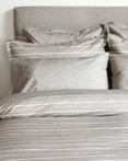 Chambray Taupe by CD Bedding of CA