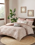 Ellipse Blush by Ink & Ivy Bedding
