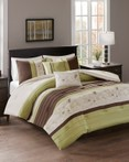 Myrtle Green by FiveTen 510 Designs Bedding