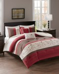 Myrtle Red by FiveTen 510 Designs Bedding