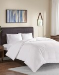 Extra Warmth Oversized 100 Percent Cotton Down Comforter by True North