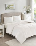 All Season Warmth Oversized 100 Percent Cotton Down Comforter by True North